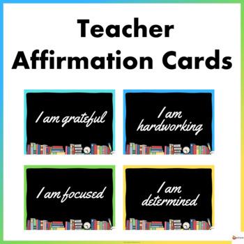 Teacher Affirmation Cards