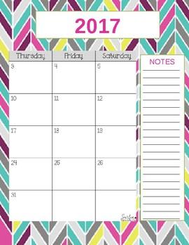 Teacher Gradebook & Agenda (Multi Chevron)