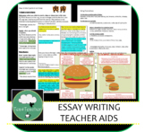 Teacher Aids for Teaching Essay Writing - Secondary English & Other Subjects