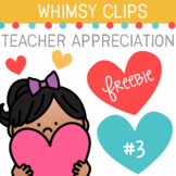 Teacher Appreciation Clip Art Freebie #3