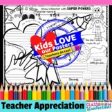 Teacher Appreciation Activity Poster