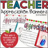 Teacher Appreciation Banners