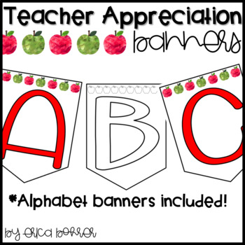 Teacher Appreciation Banners