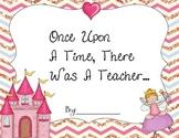 Teacher Appreciation Book