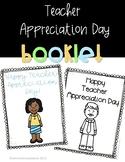 Teacher Appreciation Booklet