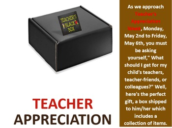 Teacher Appreciation Box