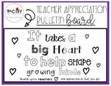 Teacher Appreciation Bulletin Board