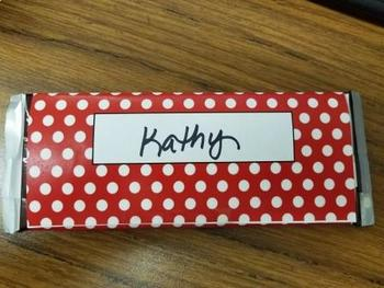 Teacher Appreciation Candy Bar Wrappers
