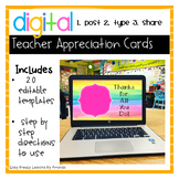 Teacher Appreciation Cards (digital)