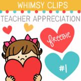 Teacher Appreciation Clip Art Freebie #1