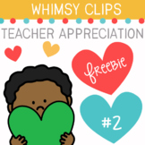 Teacher Appreciation Clip Art Freebie #2