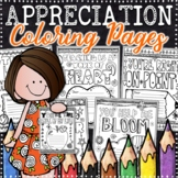 Teacher Appreciation Coloring Pages | Teacher Appreciation