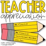 Teacher Appreciation Craft and Slides | Pencil Craft