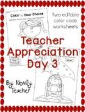 Teacher Appreciation Day 3