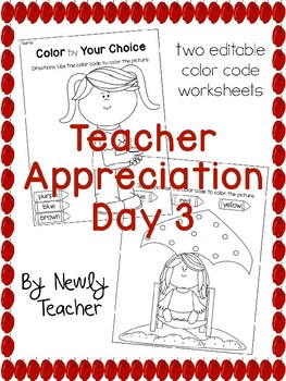 Teacher Appreciation Day 3