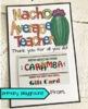 Teacher - Staff Appreciation Day Gift Tag