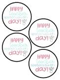 Teacher Appreciation Day Tags
