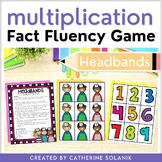 Teacher Appreciation FREEBIE Multiplication Math Facts Practice Headbands Game