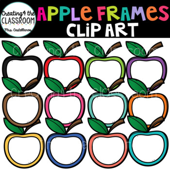 Apple Frames Clip Art