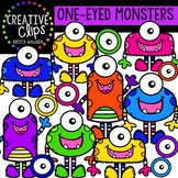 One-Eyed Monsters {Creative Clips Digital Clipart}