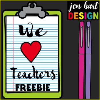 Teacher Appreciation Freebie #1 {Favorite Pens}