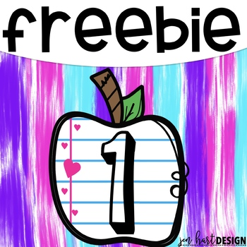 Teacher Appreciation Freebie #1  {jen hart Clip Art}