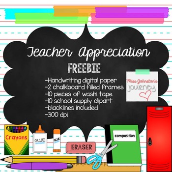 Teacher Appreciation Freebie