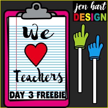 Teacher Appreciation Freebie #3 {Pointers}