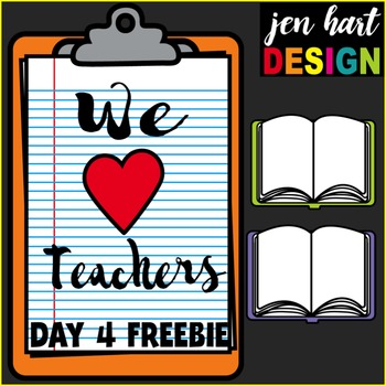Teacher Appreciation Freebie #4 {Open Books}