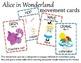 Teacher Appreciation Freebie - Alice in Wonderland Movement Cards