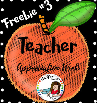 Teacher Appreciation Freebie -Day3-
