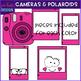 Camera and Polaroid Pictures Clip Art {jen hart Clip Art}