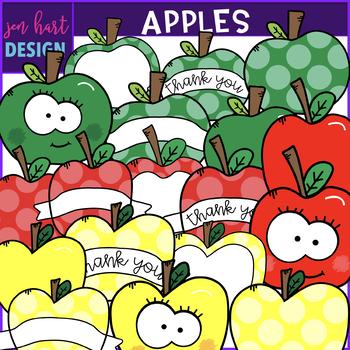 Apple Clip Art {jen hart Clip Art}