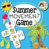 Teacher Appreciation Freebie  - Summer Movement Game