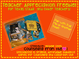 Teacher Appreciation Freebie:  Test Note for STAAR and other Tests