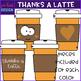 "Coffee Latte Clip Art ""Thanks a Latte"" {jen hart Clip Art}"