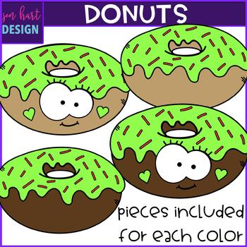 Donut Clip Art {jen hart Clip Art}