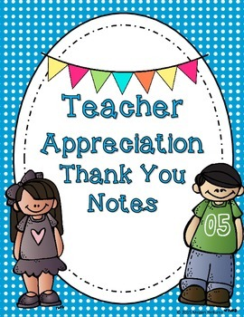 Teacher Appreciation Thank You Cards