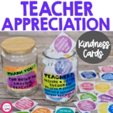 Teacher Appreciation Week Notes and Teacher Quote Cards | Teacher Kindness Cards