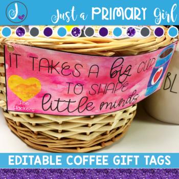 Teacher Appreciation Gift Tag
