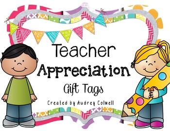 Teacher Appreciation Gift Tags 2