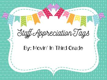 Teacher Appreciation Gift Tags
