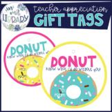Teacher Appreciation Gift Tags {Donut Theme}