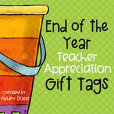 End of the School Year Tags
