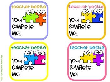 Teacher Appreciation Gift Tags Freebie
