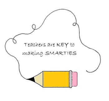Teacher Appreciation - Key to Smarties