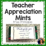 Teacher Appreciation Mints