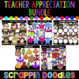 Teacher Appreciation Month Bundle {Scrappin Doodles Clipart}