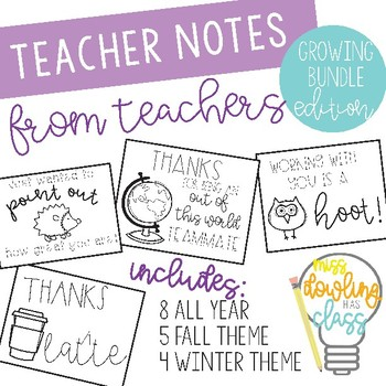 Teacher appreciation note teaching resources teachers pay teachers teacher appreciation note tags growing bundle teacher appreciation note tags growing bundle thecheapjerseys Images