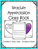 Teacher Appreciation Opinion Class Book